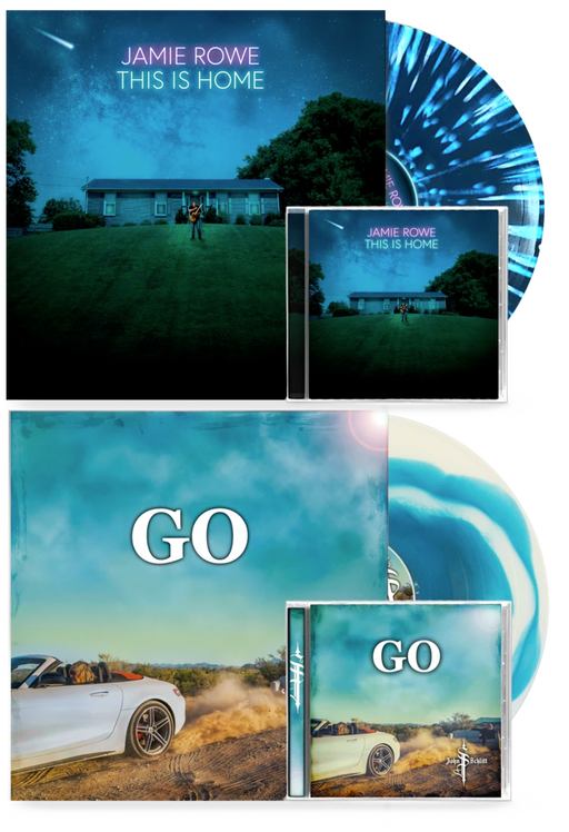 John Schlitt - Go + Jamie Rowe - This is Home (Limited Run Vinyl+CD album Combo) - Christian Rock, Christian Metal