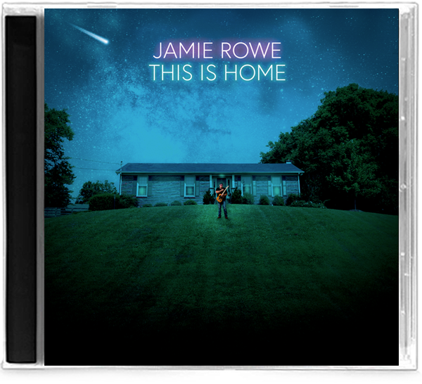 Jamie Rowe - This is Home (CD) 2019, Guardian Vocalist - Christian Rock, Christian Metal