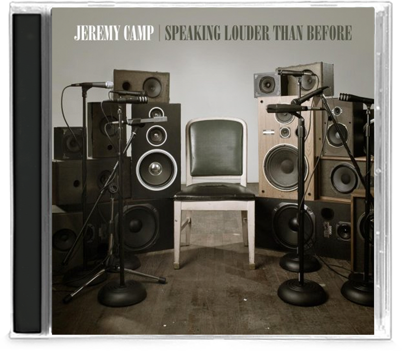 Jeremy Camp - Speaking Louder Than Before (CD) - Christian Rock, Christian Metal