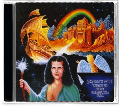Jimmy Hotz - Beyond the Crystal Sea (30th Anniversary Edition) CD - Christian Rock, Christian Metal