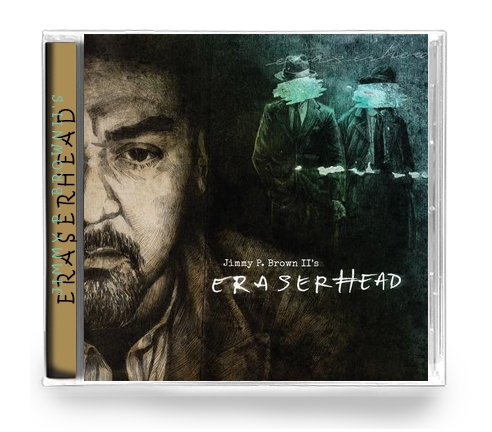 JIMMY P. BROWN II's - ERASERHEAD (*NEW-CD) 2018 DELIVERANCE/THRASH - Christian Rock, Christian Metal
