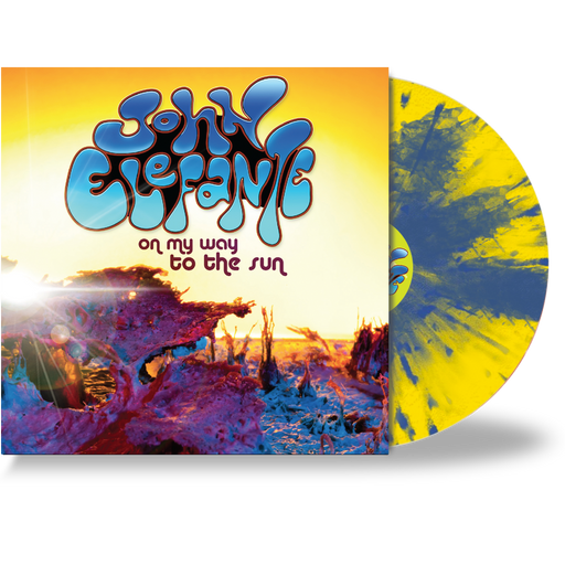 JOHN ELEFANTE - ON MY WAY TO THE SUN (*Yellow Vinyl) KANSAS / MASTEDON - Christian Rock, Christian Metal