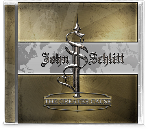John Schlitt - The Greater Cause (CD) PETRA - Christian Rock, Christian Metal