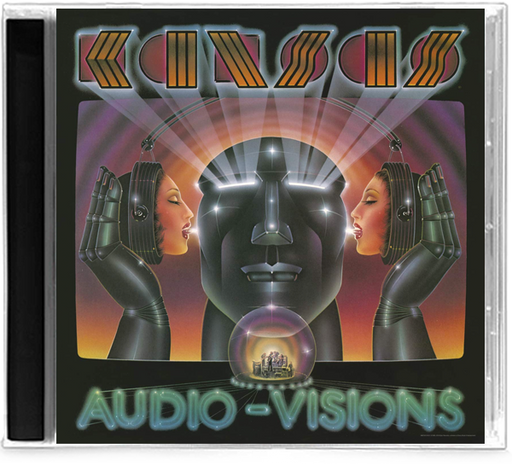 Kansas - Audio-Visions (CD) John Elefante, Jewel Case, New, Sealed