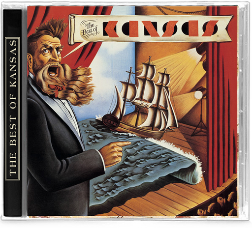 The Best of Kansas (CD) Dust In the Wind, Carry On My Wayward Son
