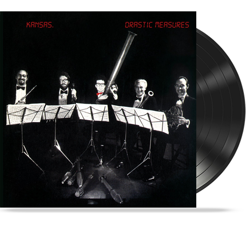 Kansas - Drastic Measures (Original Pressing Vinyl 1983 CBS) VG++ PROG.