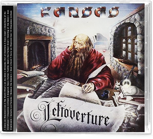 Kansas - Leftoverture (CD) 2 Previously Unreleased Live Tracks - Carry On Wayward Son