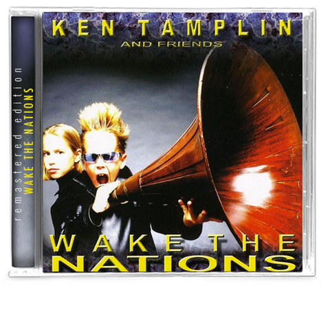 Ken Tamplin - Wake the Nations (CD) 2019 Girder Records