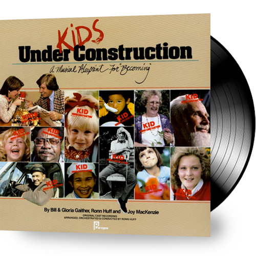 Bill & Gloria Gaither - Kids Under Construction (Vinyl) - Christian Rock, Christian Metal