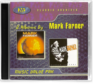 MARK FARNER WAKE UP & CLOSER TO HOME (CD) 2 ALBUM GRAND FUNK RAILROAD GFR