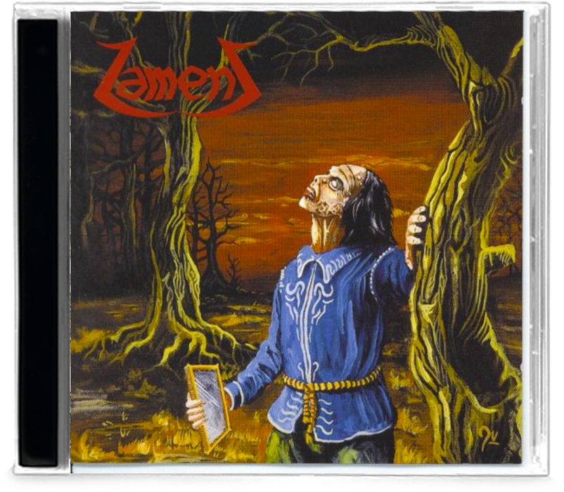 Lament - Through the Reflection (CD) 1999 Little Rose - Christian Rock, Christian Metal