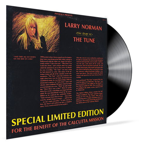Larry Norman - The Story of the Tune (Vinyl) - Christian Rock, Christian Metal