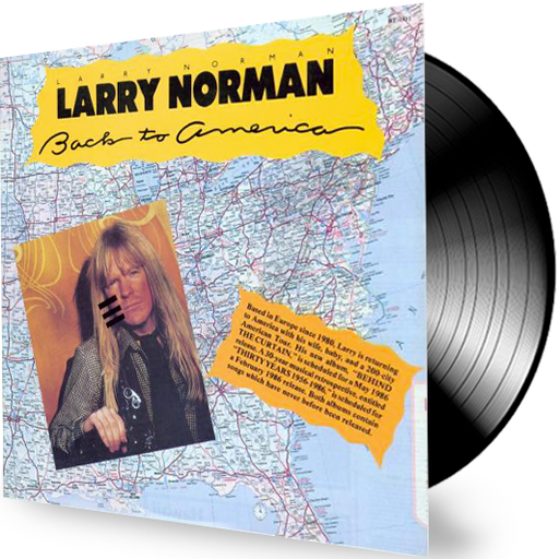 Larry Norman - Back To America (Vinyl) - Christian Rock, Christian Metal