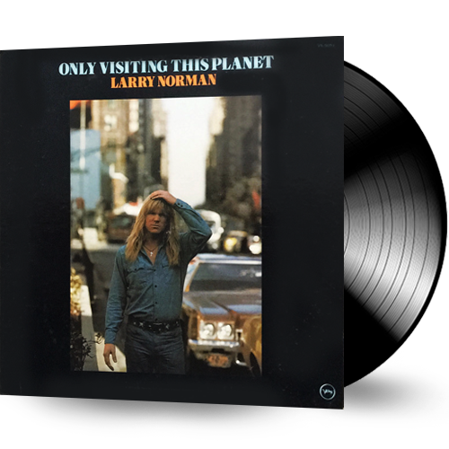 Larry Norman - Only Visiting This Planet (Vinyl) pre-owned - Christian Rock, Christian Metal