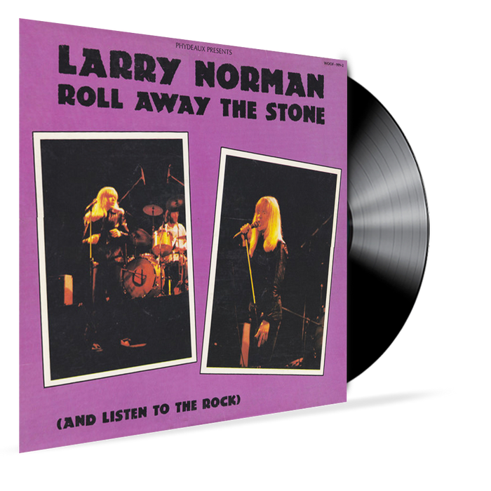 LARRY NORMAN - ROLL AWAY THE STONE (and Listen To the Rock) Vinyl - Christian Rock, Christian Metal