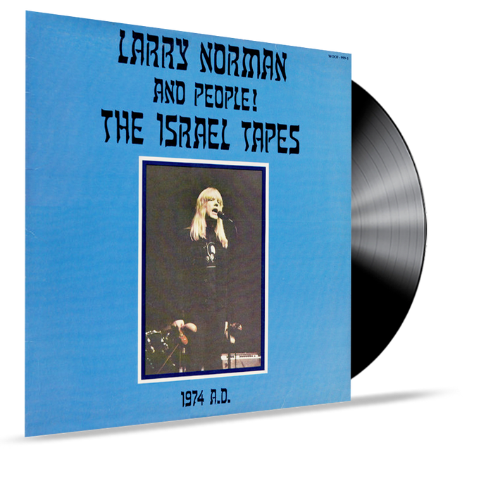 Larry Norman and People - The Israel Tapes (Vinyl) - Christian Rock, Christian Metal