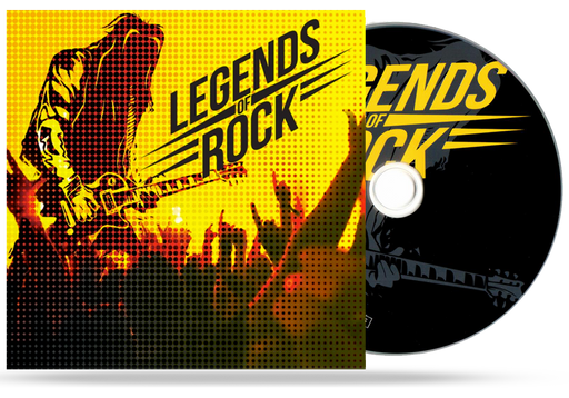 Legends of Rock - Volume 1 (CD)