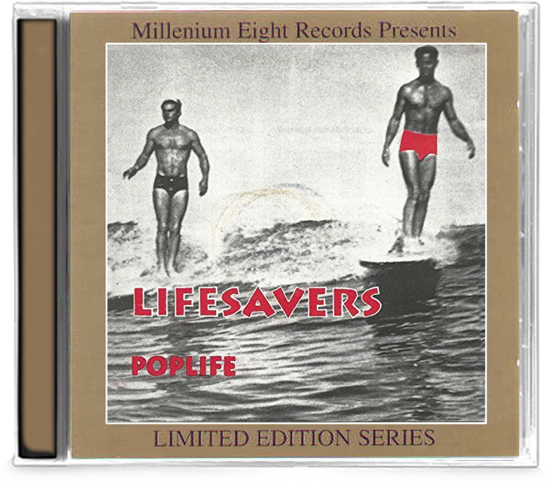 Lifesavers - Poplife (CD) Limited Edition Series #1124 - Christian Rock, Christian Metal