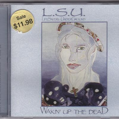 L.S.U. - WAKIN' UP THE DEAD + LIVE AT C-STONE VOL 2 (2000, M8) - Christian Rock, Christian Metal