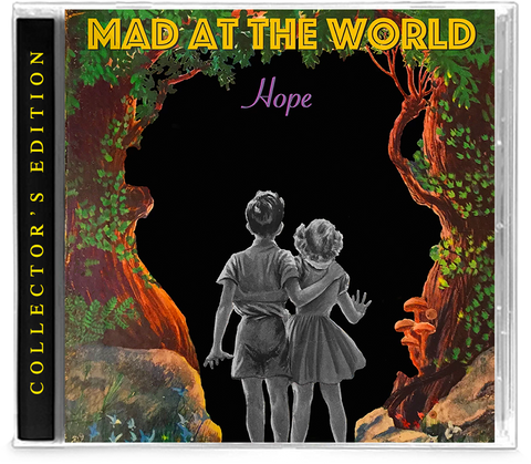 MAD AT THE WORLD - HOPE (Collector's Edition) (*NEW-CD, 2019, Retroactive Records) + 1 Exclusive Bonus Track