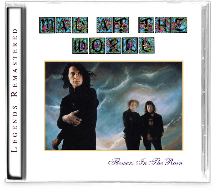 MAD AT THE WORLD - FLOWERS IN THE RAIN (Legends Remastered) + 1 Bonus Track (*NEW-CD, 2019, Retroactive) - Christian Rock, Christian Metal