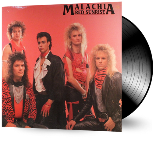 Malachia - Red Sunrise (Vinyl) Pre-owned rare. - Christian Rock, Christian Metal