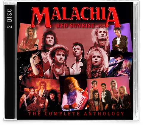 Malachia - Red Sunrise / Under the Blade Complete Anthology (CD)