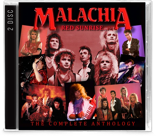 Malachia - Red Sunrise / Under the Blade Complete Anthology (CD) - Christian Rock, Christian Metal