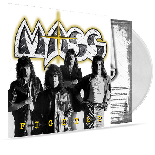 Mass - Fighter (White Vinyl) - Christian Rock, Christian Metal