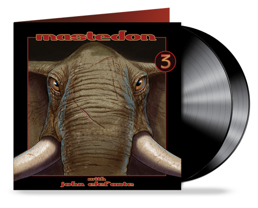 Mastedon - 3 (BLACK 2xLP Gatefold Double Vinyl) John Elefante & Kerry Livgren of Kansas