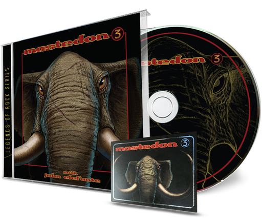 Mastedon - 3 (CD) John Elefante & Kerry Livgren of Kansas