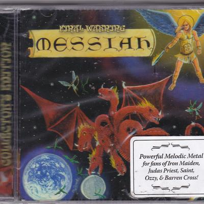 MESSIAH - FINAL WARNING (2010, Retroactive) - Christian Rock, Christian Metal