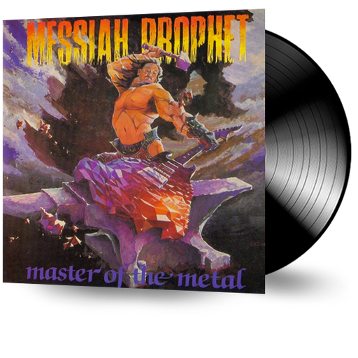MESSIAH PROPHET - MASTER OF THE METAL (Vinyl) Original Issue - Christian Rock, Christian Metal