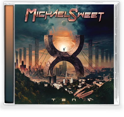 Michael Sweet - Ten (CD) Stryper. Features Whitesnake, LA Guns, Queensryche - Christian Rock, Christian Metal