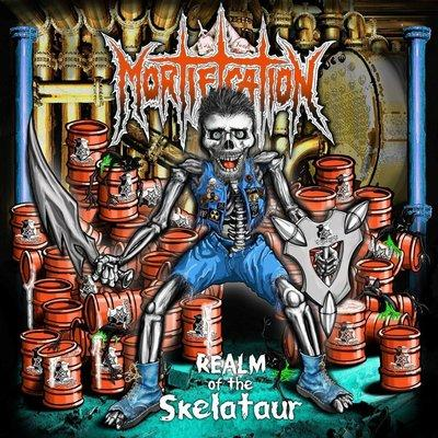 MORTIFICATION - REALM OF THE SKELATAUR (2015, VINYL) - Christian Rock, Christian Metal