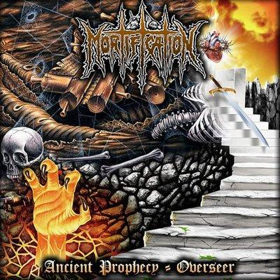 "MORTIFICATION - ANCIENT PROPHECY / OVERSEER (10"" Vinyl, 2017, Soundmass) - Christian Rock, Christian Metal"