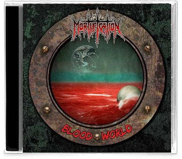 MORTIFICATION - BLOOD WORLD (*NEW-CD, 2020, Soundmass) Deluxe reissue w/ 4 bonus tracks Remastered - Christian Rock, Christian Metal