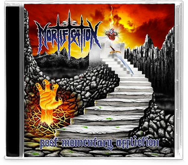 MORTIFICATION - POST MOMENTARY AFFLICTION (*NEW-CD, 2020, Soundmass) Deluxe reissue w/bonus tracks - Christian Rock, Christian Metal