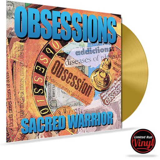 SACRED WARRIOR - OBSESSIONS (*NEW-180 Gram Watermelon Red Swirl Vinyl, Retroactive) Limited 200 Units - Christian Rock, Christian Metal