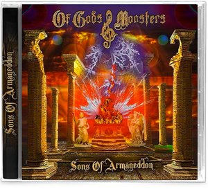 OF GODS & MONSTERS - SONS OF ARMAGEDDON (*NEW-CD, 2020) Dio like w/ex-Stryper (Tim Gaines), ex-Omen, Dead Daisies, Bad English