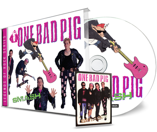 One Bad Pig - Smash (CD) Remastered w/Trading Card #3