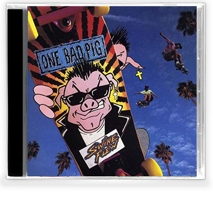 ONE BAD PIG - SWINE FLEW (*NEW-CD, 1990) Petra-Judas Kiss