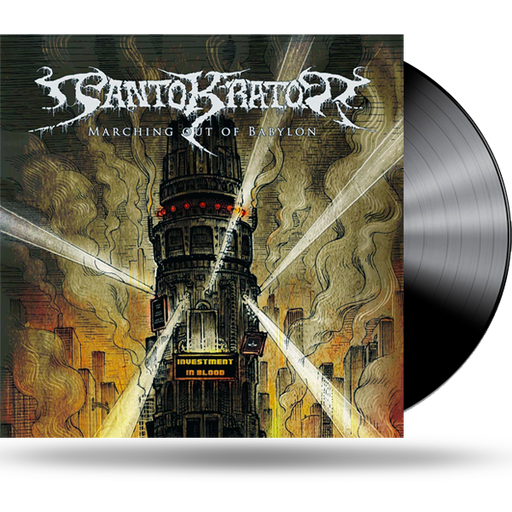 RANTOKRATOR - MARCHING OUT OF BABYLON (*New-Vinyl) SWEDISH DEATH METAL