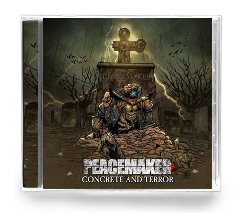 PEACEMAKER - CONCRETE & TERROR (*NEW-CD, 2018) - Christian Rock, Christian Metal
