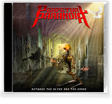 Perpetual Paranoia - Between the Altar and the Cross (New-CD) 2019 Bride/Stryper - Christian Rock, Christian Metal
