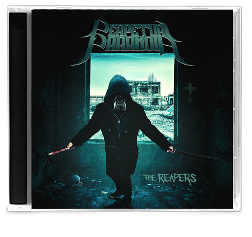 Perpetual Paranoia - The Reapers (CD) Dale Thompson BRIDE - Christian Rock, Christian Metal