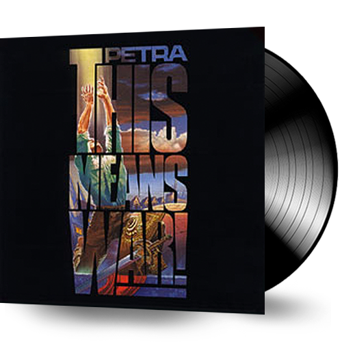 Petra - This Means War (Sealed Vinyl) 1987 Star Song - Christian Rock, Christian Metal