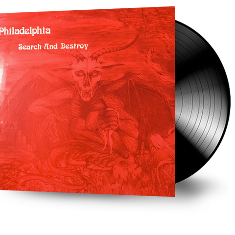 Philadelphia - Search and Destroy (Vinyl) Original Pressing 1985 Patmos