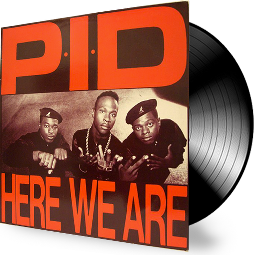 PID - Here We Are (Vinyl) RARE PRIVATE XIAN RAP - Christian Rock, Christian Metal