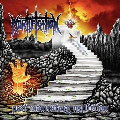 MORTIFICATION-POST MOMENTARY AFFLICTION (1993, Nuclear Blast) - Christian Rock, Christian Metal